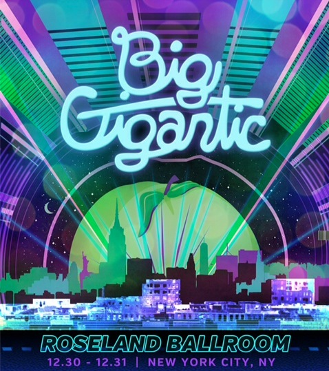 CONTEST: Win Tickets to Big Gigantic @ Roseland Ballroom 12/30