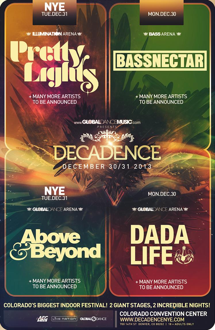Decadence NYE 2013
