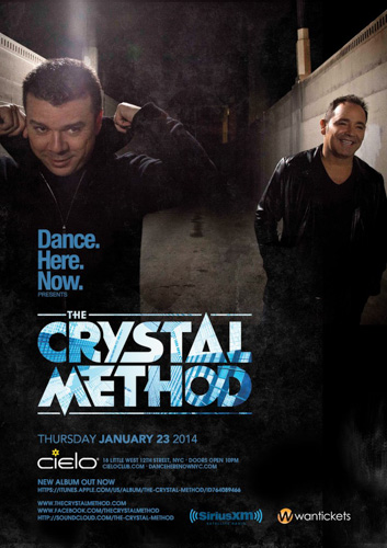 EVENT: The Crystal Method @ Cielo 1.23