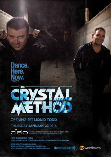 REVIEW: The Crystal Method @ Cielo 1.23