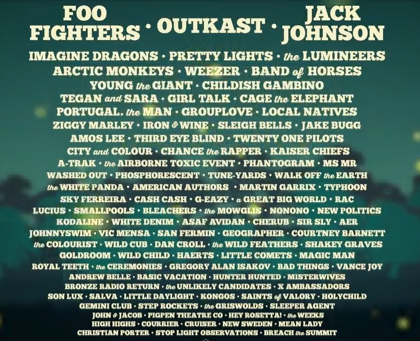 Firefly Festival 2014 Possible Lineup | traynes.com