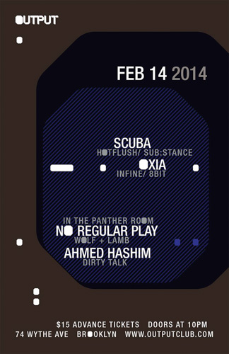 EVENT: Scuba @ Output 2.14