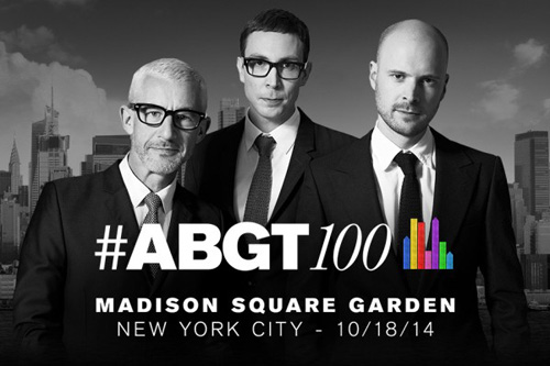 #ABGT100: MADISON SQUARE GARDEN, NEW YORK CITY, OCTOBER 18