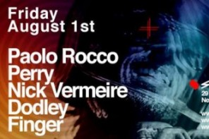Strange People at Sankeys w/ Paolo Rocco, Perry & More on 8.01