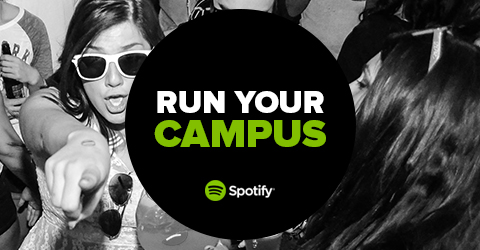 spotify run your campus