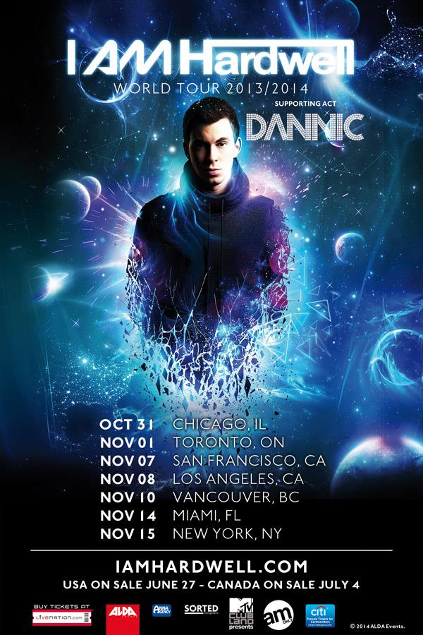 Hardwell's 'I AM HARDWELL' North American Tour – Cities To Look Forward To.