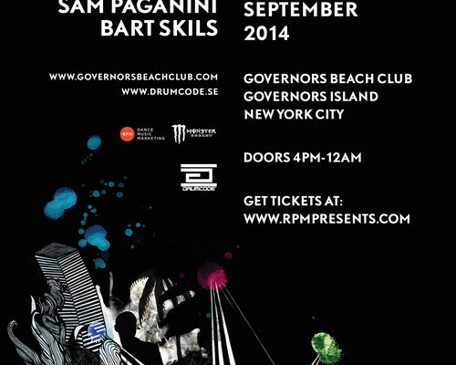 DRUMCODE ISLAND at Governors Beach Club, NYC - September 13