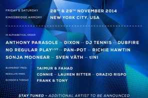 Time Warp US line-up announced