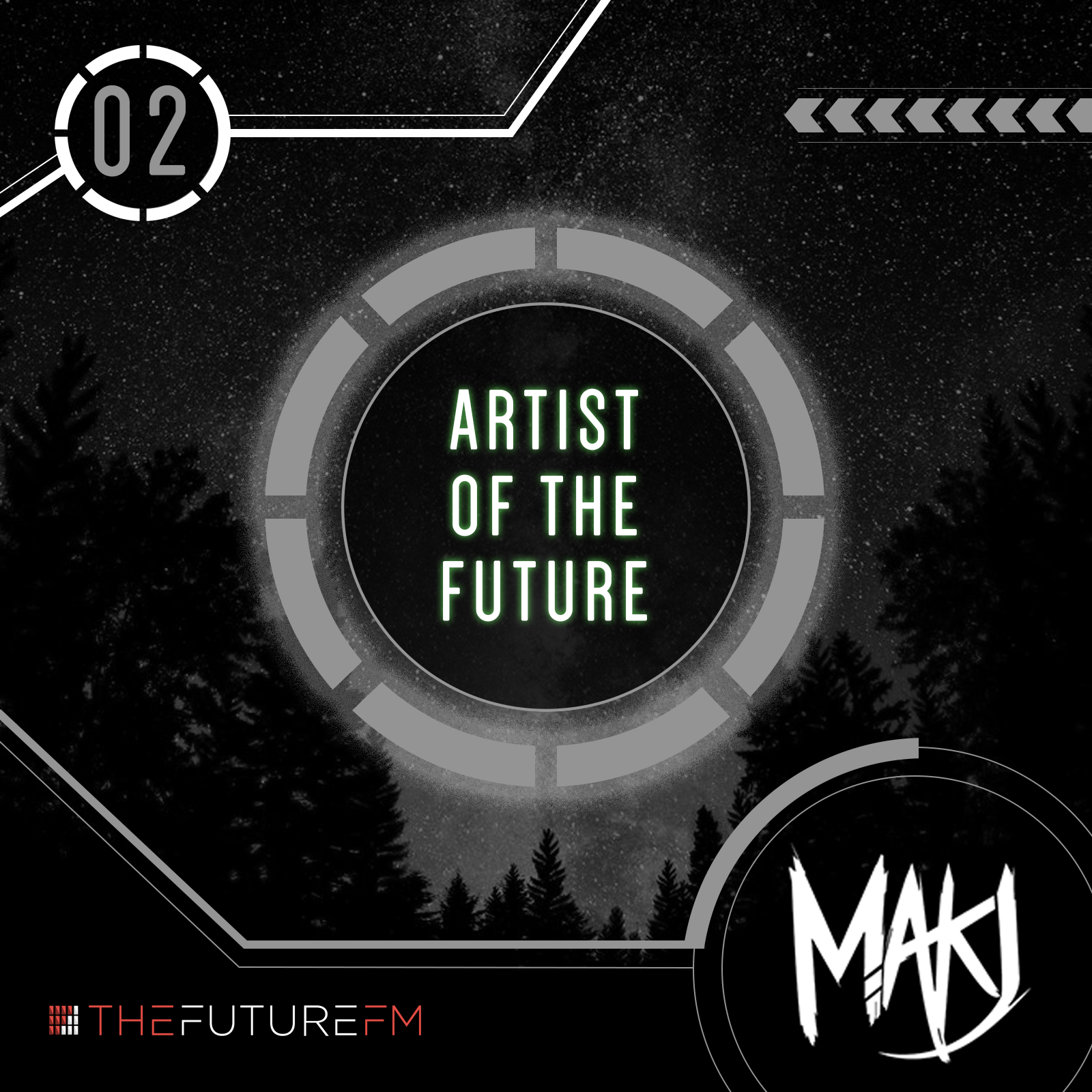 "TheFuture.fm Releases MAKJ's ""Artist of TheFuture"" Mix, the Second Installment in the Series"