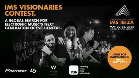 IMS IBIZA LAUNCH VISIONARIES COMPETITION