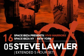 Steve Lawler at Space New York on Saturday May 16th
