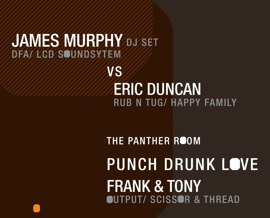 James Murphy B2B Eric Duncan at Output with Frank & Tony in The Panther Room (June 19, 2015)